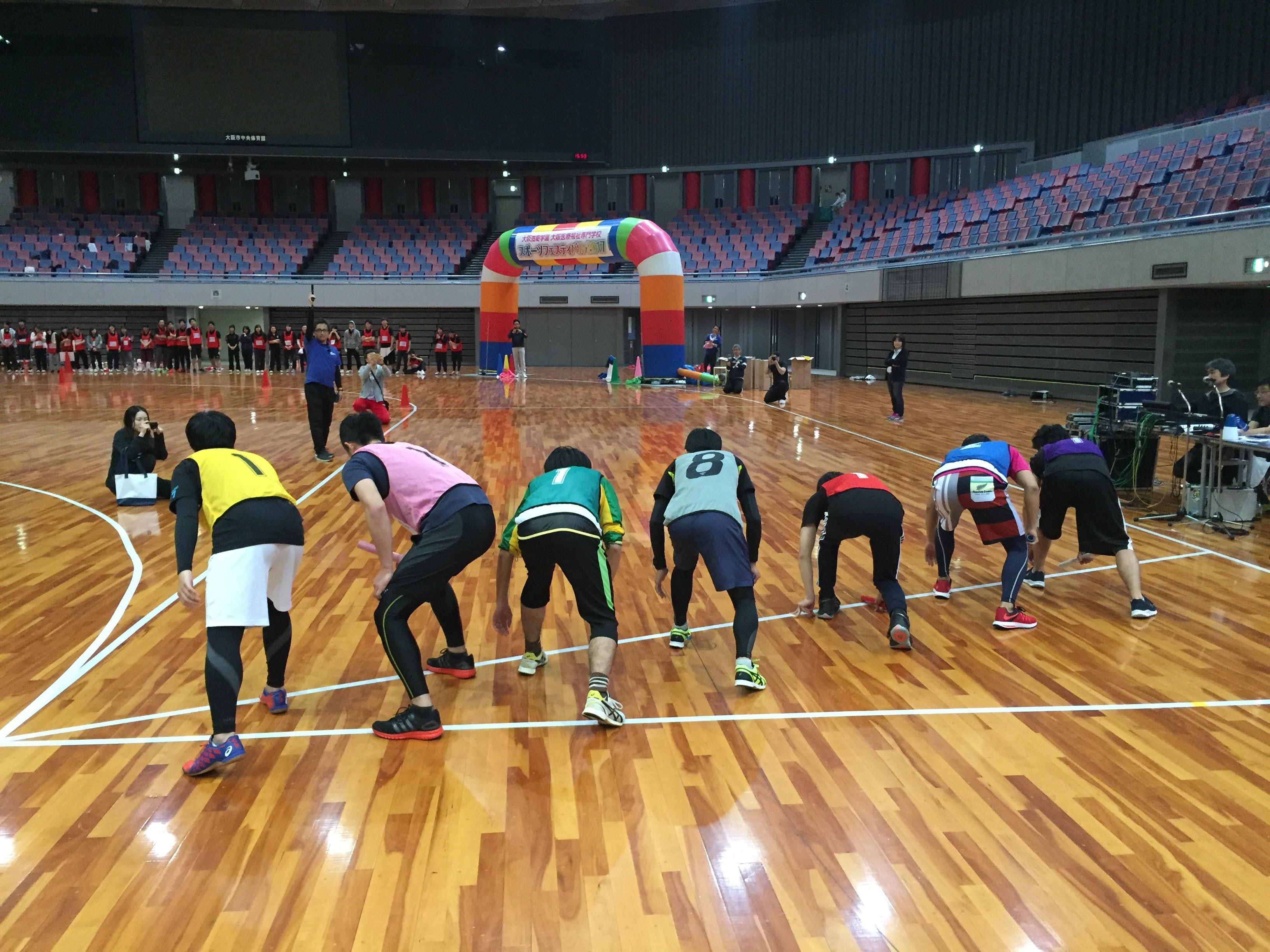 大阪医療福祉専門学校様の運動会