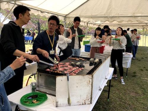 労働組合様30周年記念イベント 運動会&BBQ