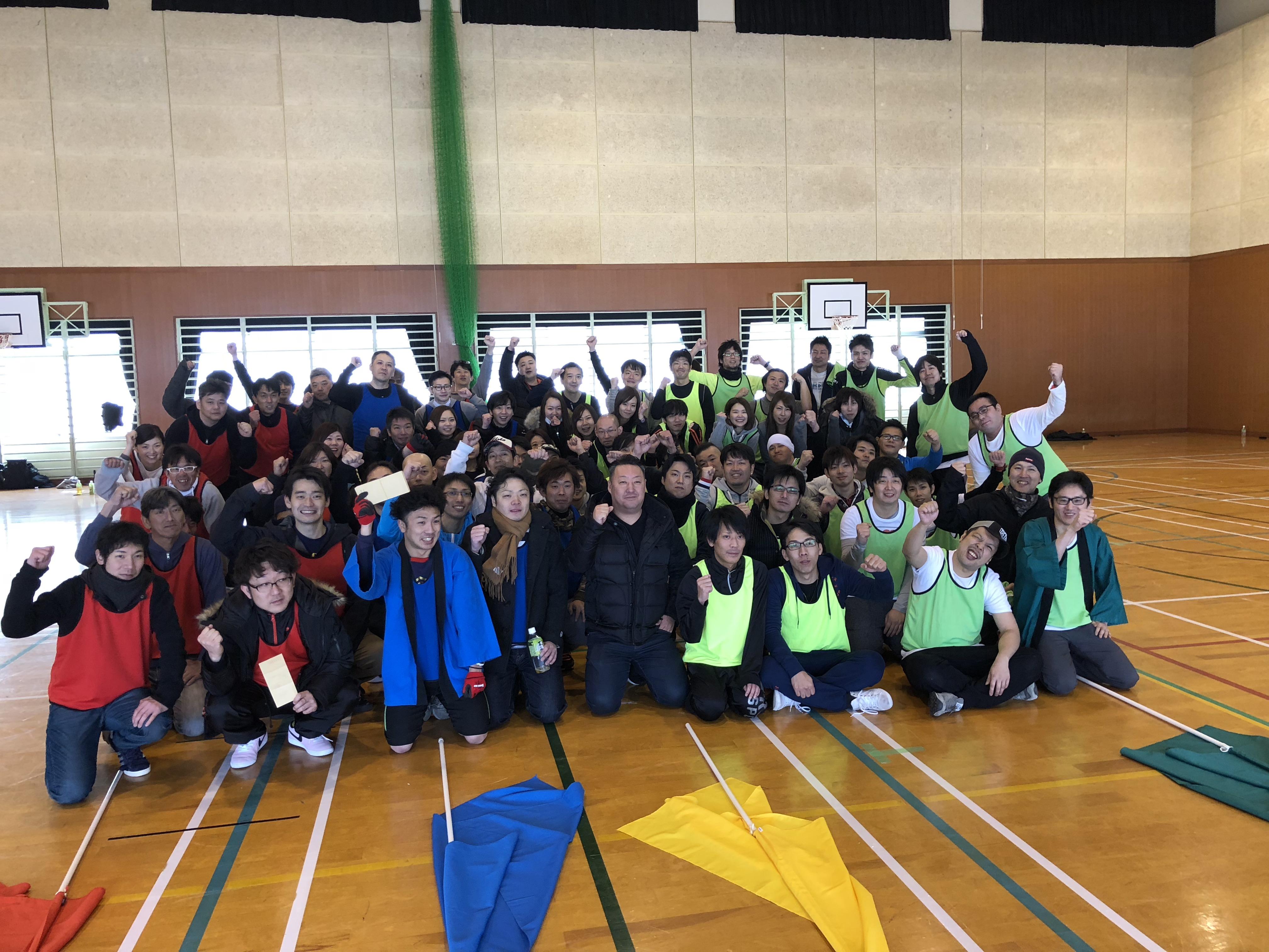 飛騨高山へ社員旅行そして社内運動会(少人数プラン)