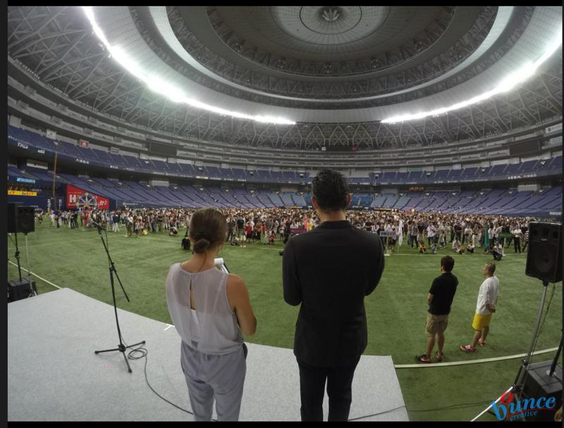 社長の「社員・ご家族」への想いが詰まった社内運動会 in京セラドーム